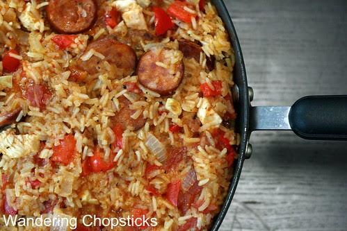 Creole Red Jambalaya with Chicken and Sausage 2