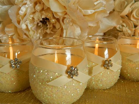 Weddings Wedding Candles Candle Holder Votives by KPGDesigns
