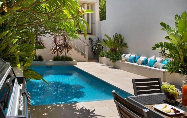 Backyard landscaping ideas with small pool