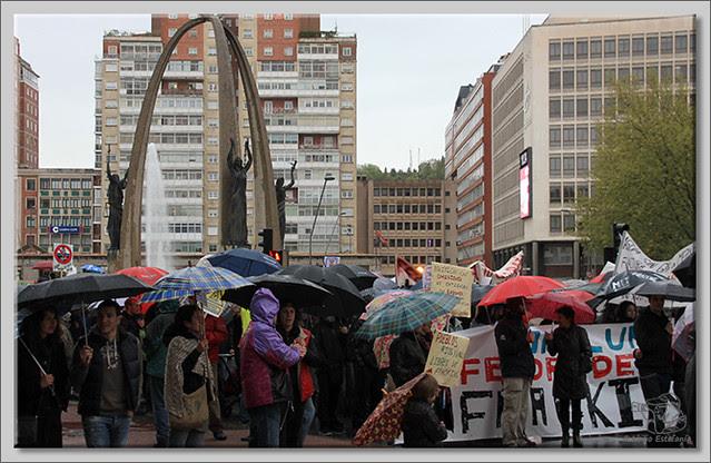 9 Manifestación contra el fracking en Burgos