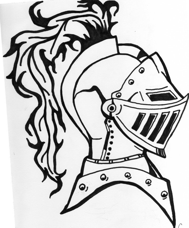 Knight In Armor Drawing At Getdrawingscom Free For Personal Use