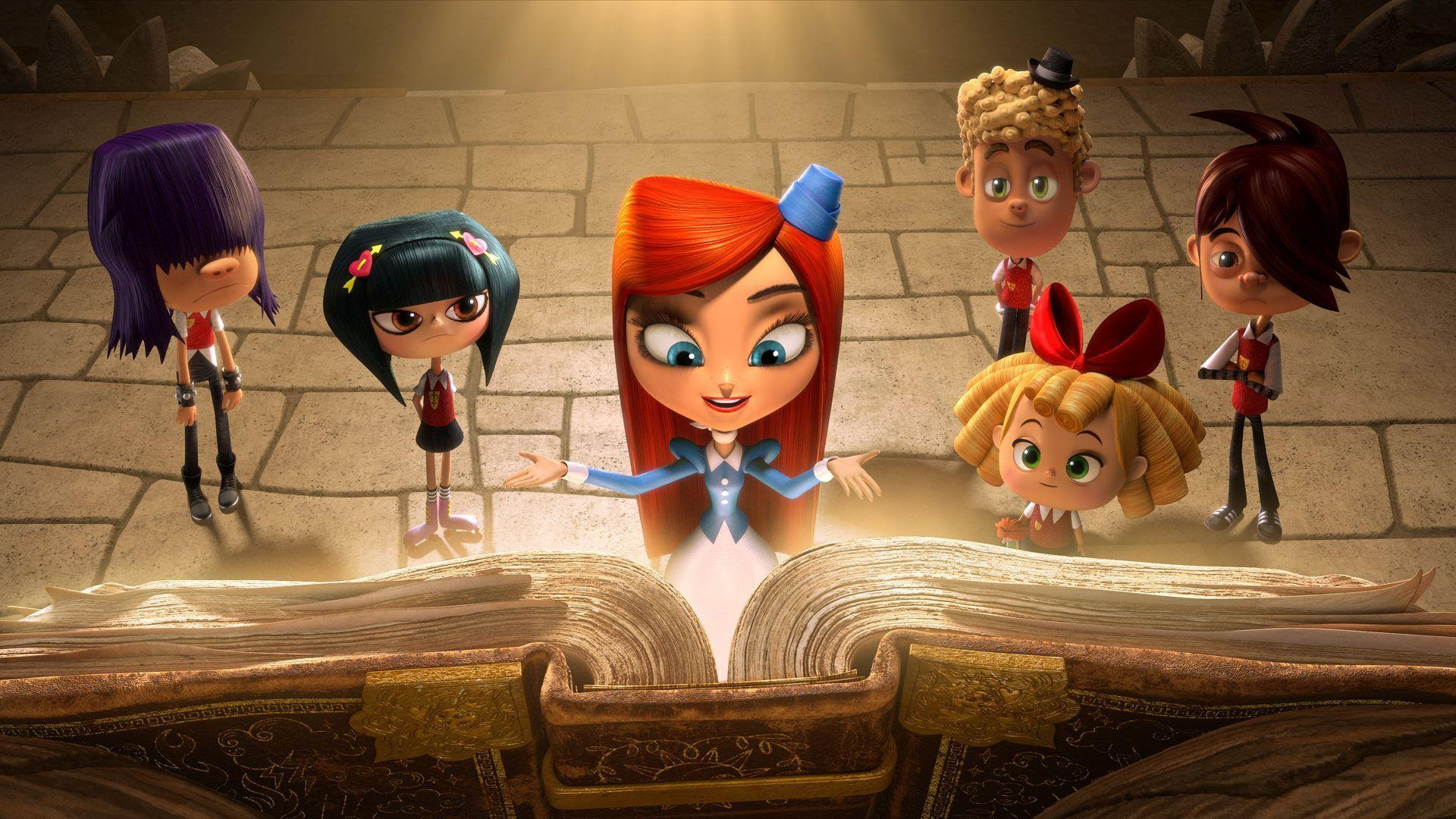 Hd Looking At The Big Book The Book Of Life Wallpaper Download