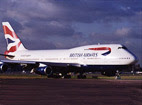 British Airways Boeing 747-436 G-CIVX.