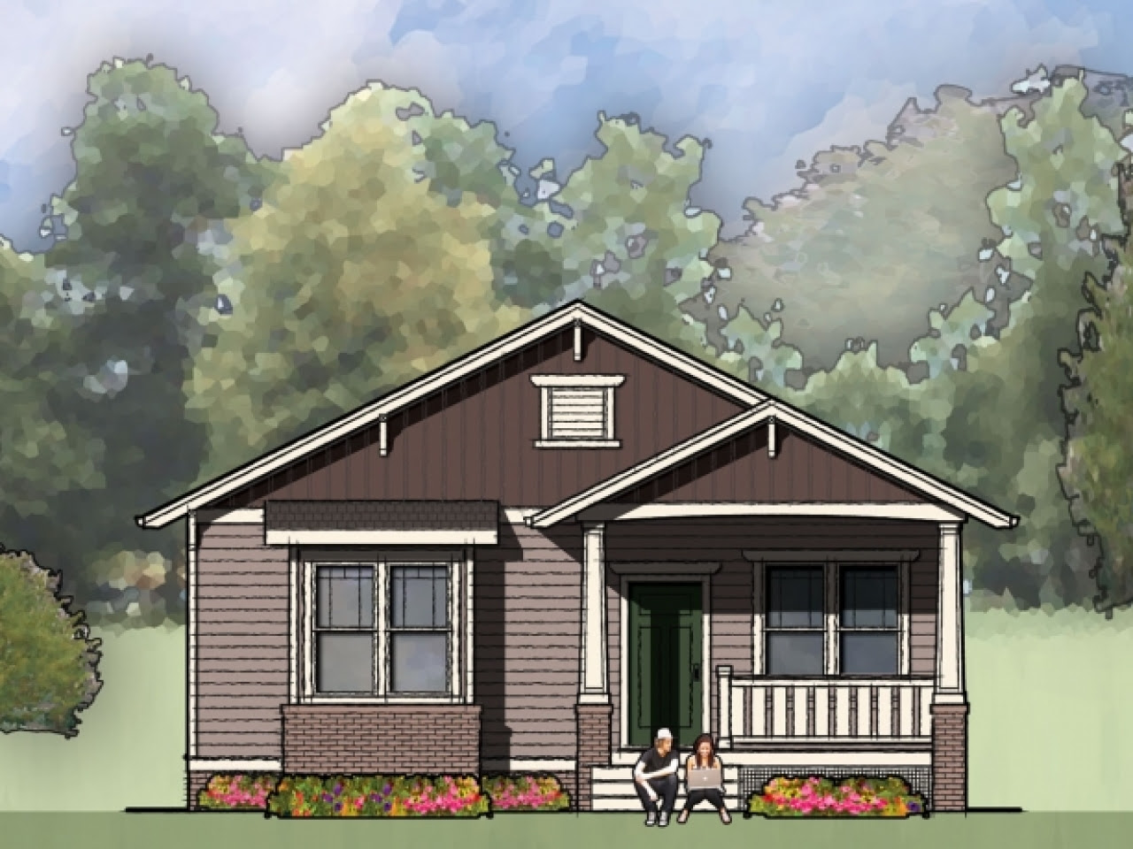 Small Bungalow House Plans Designs Simple Small House ...