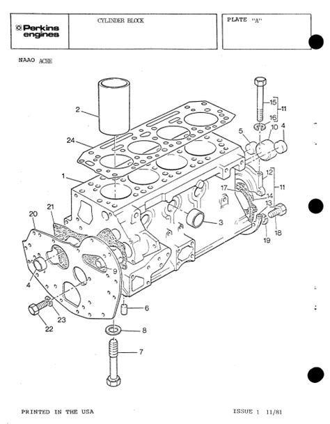 Perkins Diesel Engines 4.108 Series Parts And Workshop
