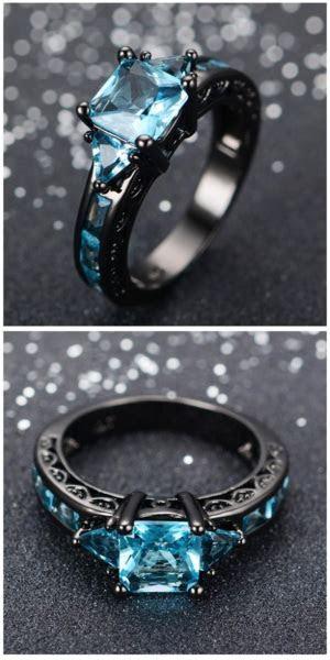 Titanium Aquamarine Ring For Sale   Free Worldwide
