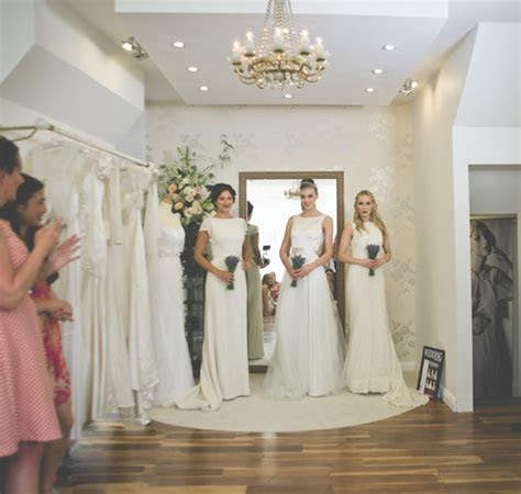 behuli bridal shop fulham   Vintage style Wedding Dresses