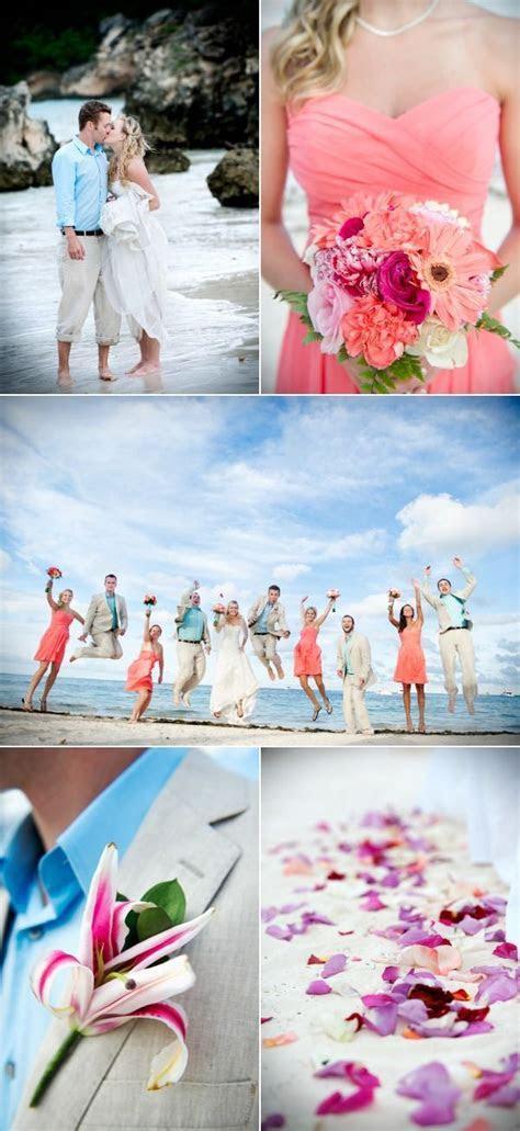 Colorful Beach Wedding at Dreams Palm Beach Punta Cana