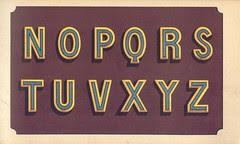 album n2 peintre lettres 11