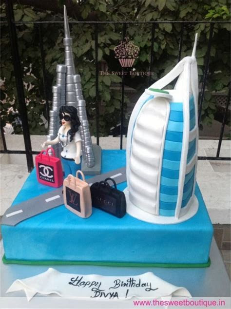 Dubai Themed Cake