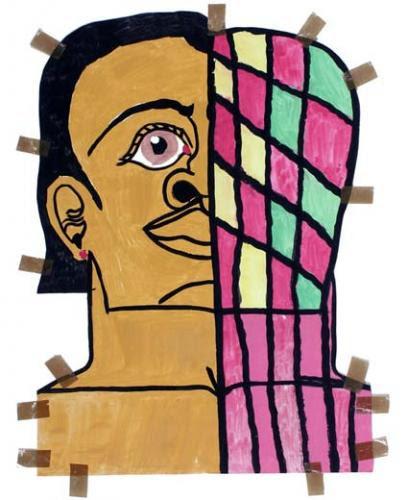 Misleidys Castillo Pedroso, sans titre, 2015. gouache sur papier, 71 x 55 cm<br><br>Courtesy galerie Christian Berst (Paris), © Misleidys Castillo Pedroso