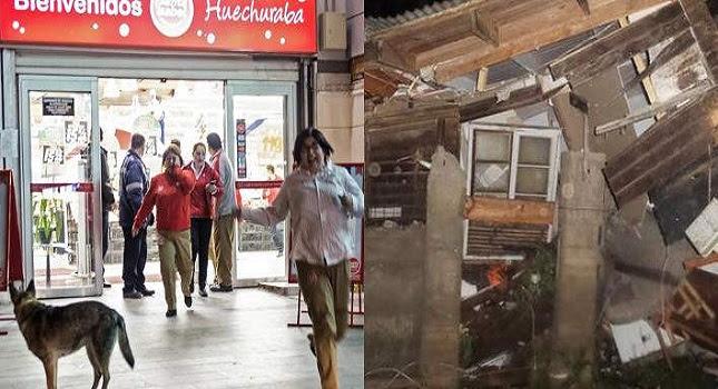 Σεισμός «τέρας» 8,3 Ρίχτερ στη Χιλή -Σκηνές Aποκάλυψης στη χώρα (pics-vids)
