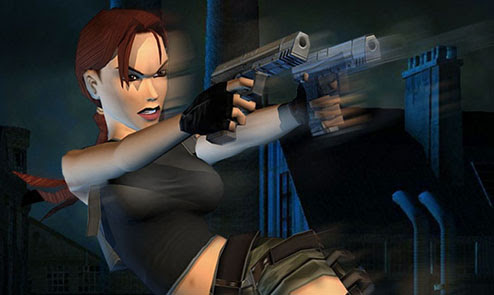 Lara Croft with Dual pistols