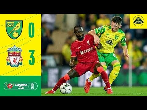 Watch Highlight: Norwich Vs Liverpool (0:3)