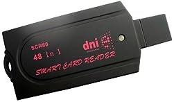 マルチカードリーダー 接触型ICカード(B-CAS・住基カードなど)対応 USB接続 SCR80