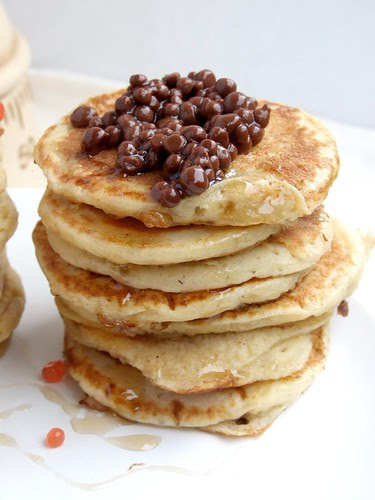 blinis e caviale dolce