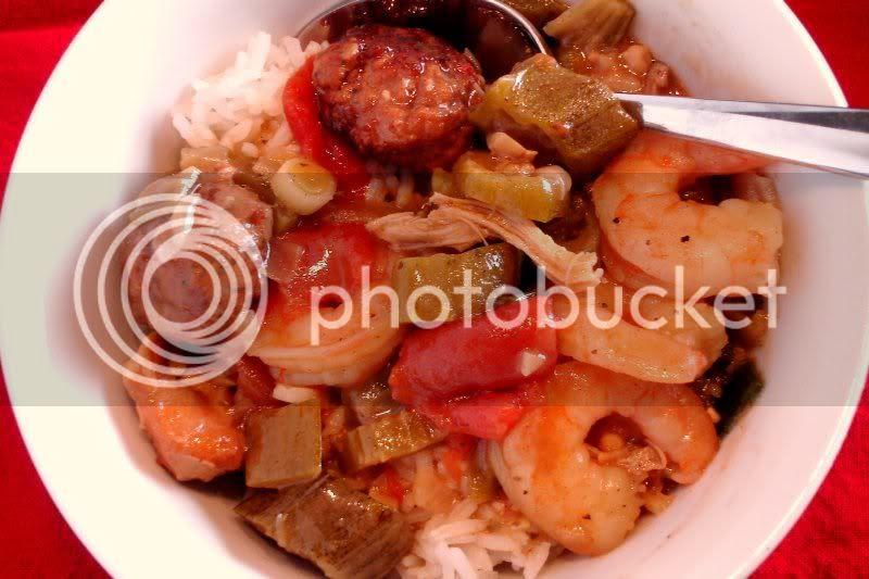 Seafood and Sausage Gumbo