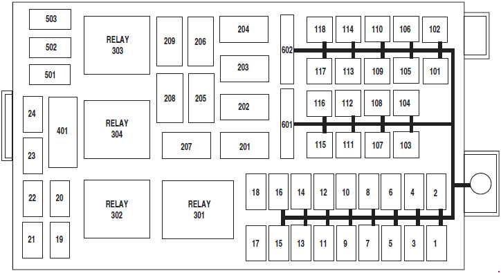2003 Mercury Grand Marquis Engine Fuse Box   schematic and ...