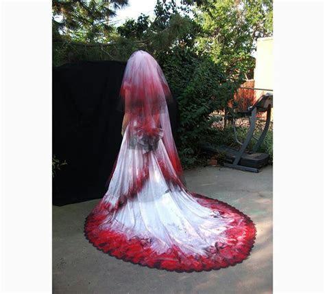 Halloween Themed Wedding Dress