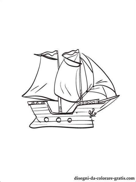 disegno veliero da colorare disegni da colorare gratis