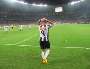 Atlético-MG x Olimpia final Libertadores Diego Tardelli (Foto: Alexandre Alliatti)