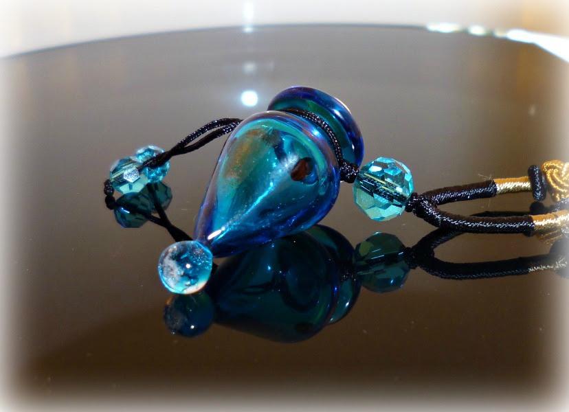 Halskette Blue Lagoon