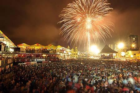 * Primeiro final de semana do Mossoró Cidade Junina foi tranquilo.