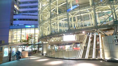 That large escalator to Roppongi Hills