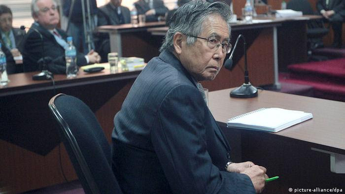 Peru Alberto Fujimori vor Gericht