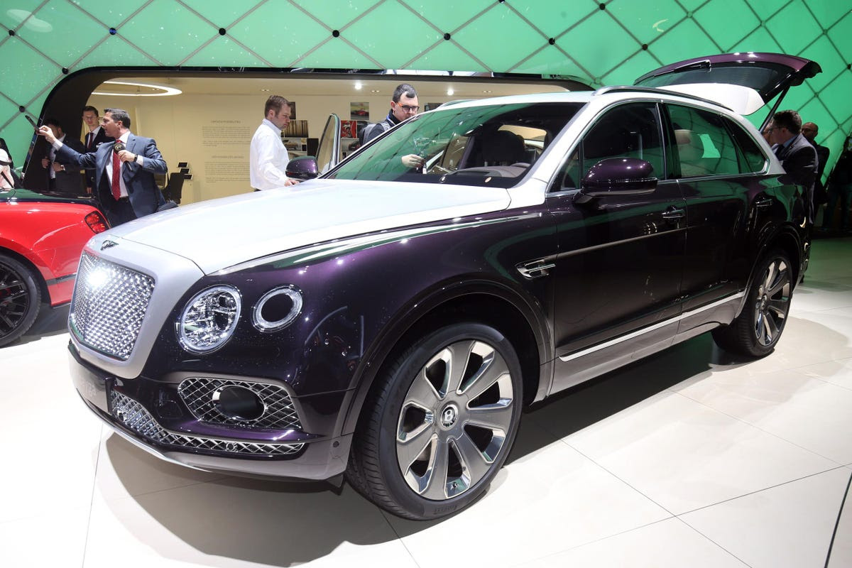 ... The custom-built Bentayga Mulliner SUV, and ...