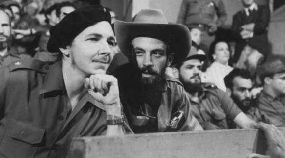 Camilo con Raúl Castro.