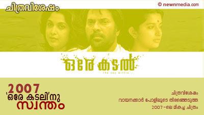 Best Film'07 - Chithravishesham Poll Results
