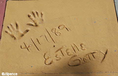 Image result for hand prints in cement date