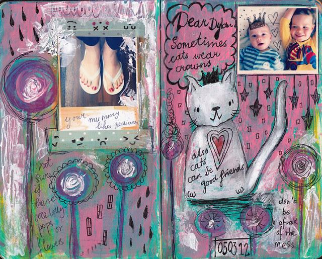 Dylan & Elliot Art Journal - p2