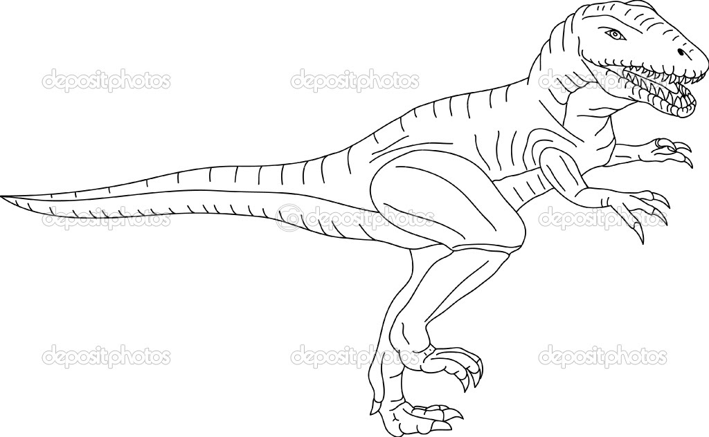 Coloriages à Imprimer T Rex Numéro 233901