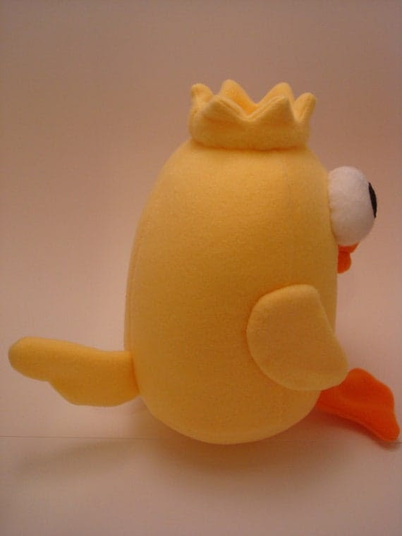 Lizzie Love version of DUCKY MOMO - Candace's Favorite Toy from Disney's Phineas & Ferb - Plush Softie