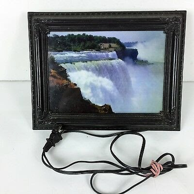 Lighted Moving Waterfall Motion Picture Best Waterfall Golalico