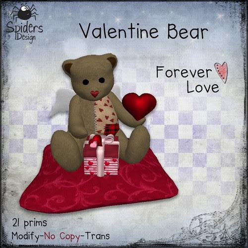 Valentine Bear - Forever Love