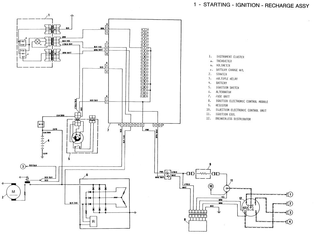 Ad01d5 Fiat 124 1982 Wiring Schematic Wiring Diagram Library