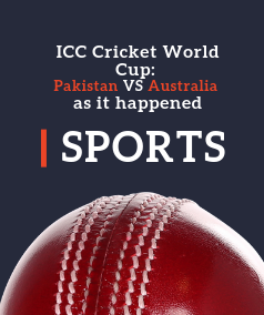 ICC Cricket World Cup: Pakistan VS Australia as it happened