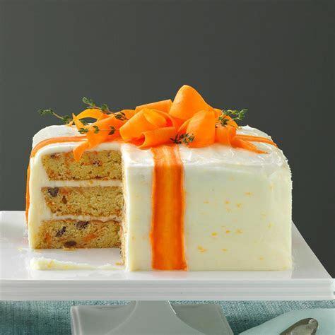 Three Layered Carrot Cake Recipe   Taste of Home