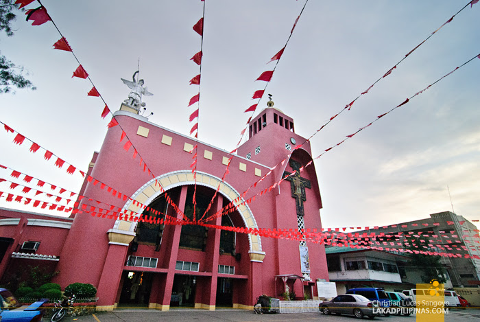 At Iligan City's Pink Cathedral