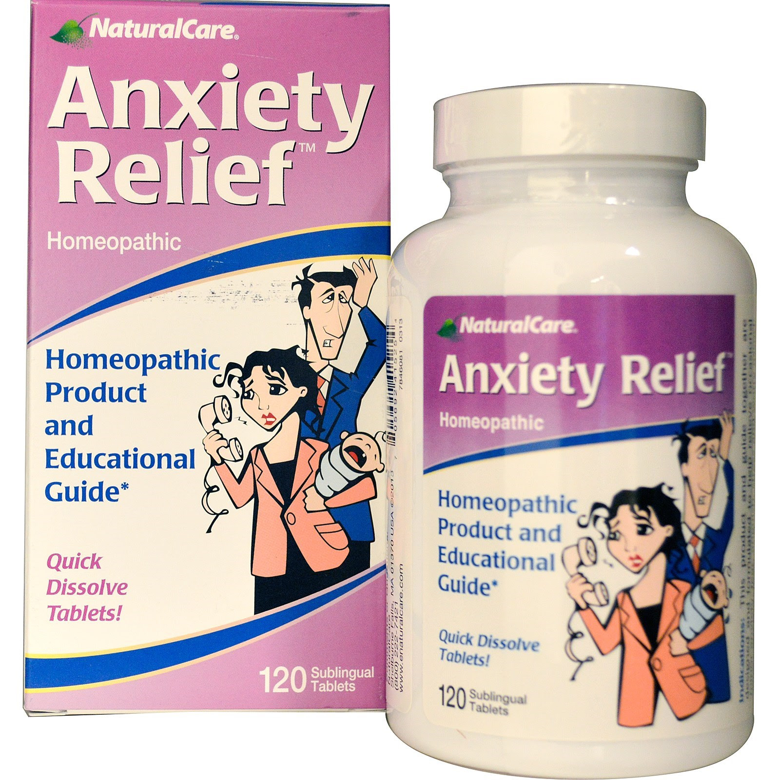 Natural Care Anxiety Relief, 120 tablets - Health ...