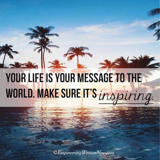 Shequotes Make Your Life Your Message Shequotes Quotes Life