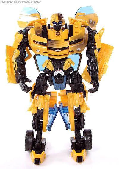 Transformers 2 Bumblebee figure.