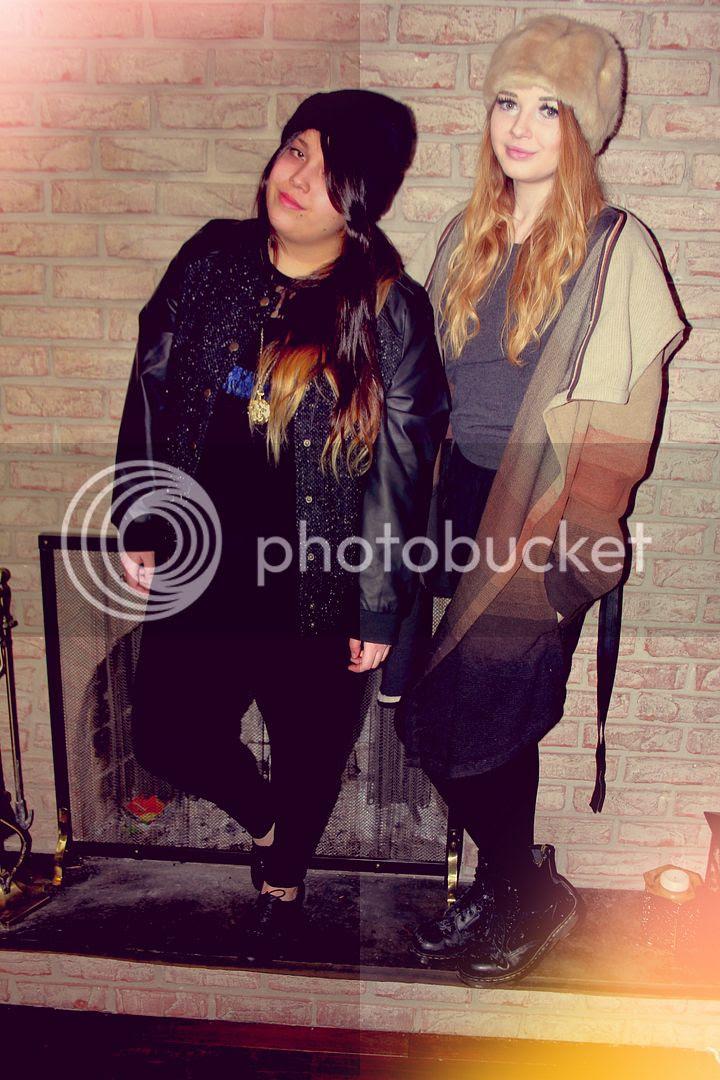 Jessica Ip, Plus Size Fashion, Full Figured Fashion, Plus Size Blogger, Toronto, Canada, Beanie, Plus Size Harem Pants, Plus Size Crop Top, Plus Size Crop, Plus Size Lace Crop Top, Lace Crop Top, Brogues,twinsies, twins, fashion, ombre, Plus Style, Fatshion February, Fatshion, Twinsies