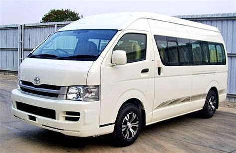10 Seater Toyota Van Hire in India. Toyota Hiace Van on
