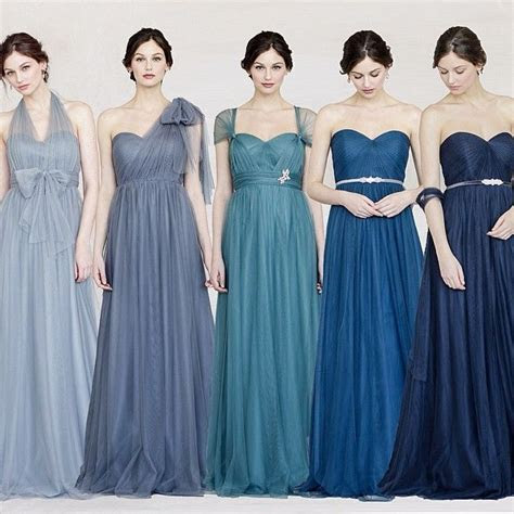 Jenny Yoo Annabelle Dress in Shades of Blue! http