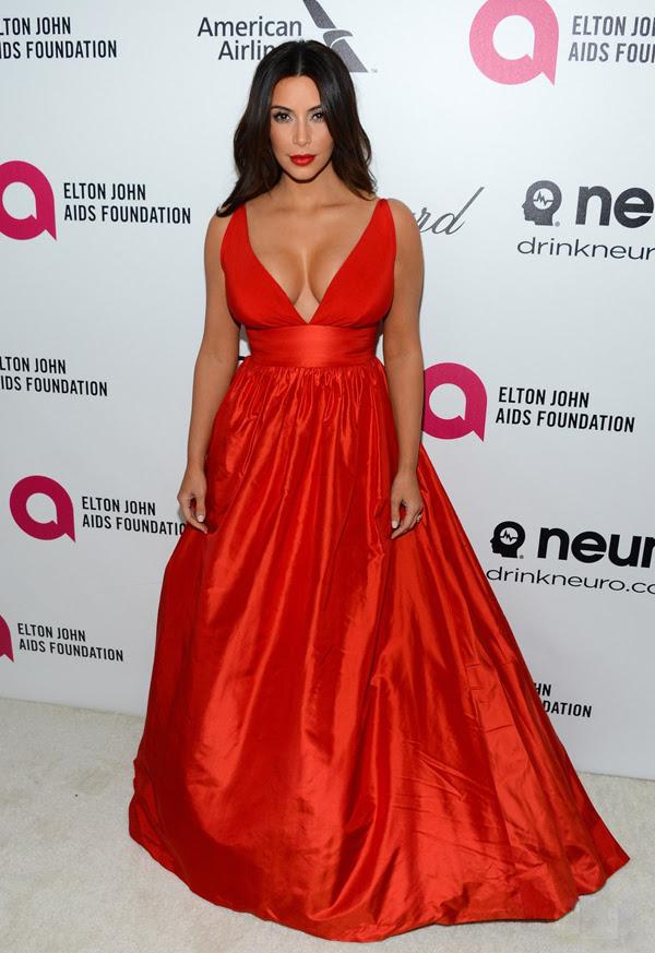 _Kim-Kardashian's-Elton-John-AIDS-Foundation-Academy-Award-Party-Celia-Kritharioti-Red-Gown