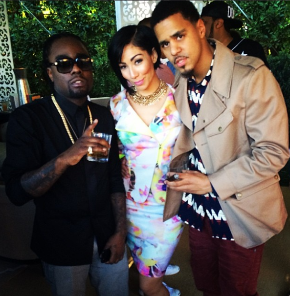 Bridget-Kelly-Wale-J.Cole-Roc-Nation-Pre-Grammy-Brunch